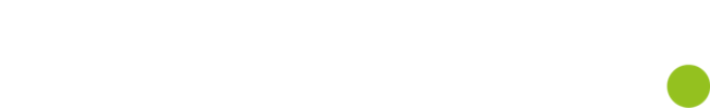 Logo halmstad vit grönpunkt